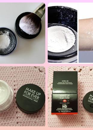 Make up for ever ultra hd loose powder ультратонкая рассыпчаст...
