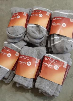 Термо носки, очень теплые.esmara