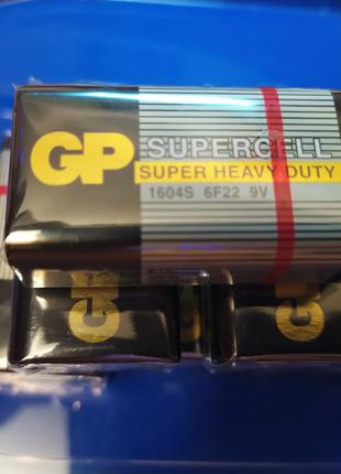 Батарейка GP Supercell крона