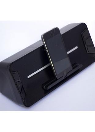 Стерео колонка Wster WS-1618 Bluetooth Чёрная.