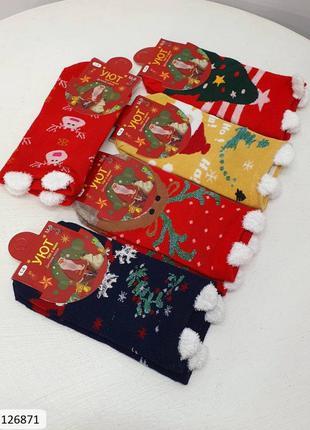 Новогодние носочки-упаковка