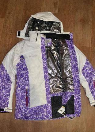 Женская зимняя куртка columbia titanium горнолыжная
