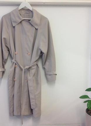 Шикарный тренч пальто на пояс