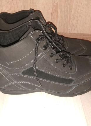 Ботинки мужские новые кожа Outventure