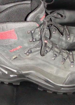 Lowa renegade gtx mid - шкіряні трекінгові черевики. р- 49.5 (...