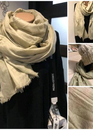 Тончайший мягусенький теплый шарф платок палантин