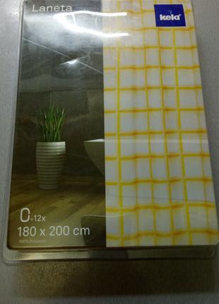 Шторка для ванной Laneta 180х200 (ШхВ) см Kela