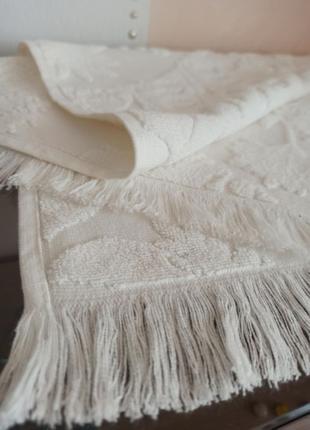 Турецкое белоснежное полотенце Pupilla  50*90