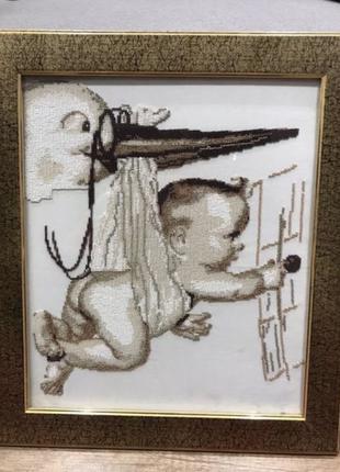 Картина бисером , вышивка, постер, декор, бисер, ручная работа