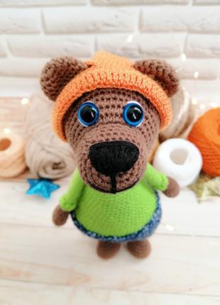 Мишка мягкая игрушка для мальчика или девочки с рождения