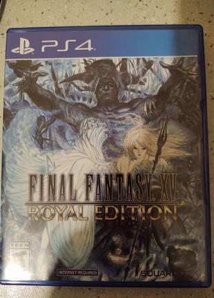 Диск Final Fantasy 15 Royal Edition (Playstation 4) PS4