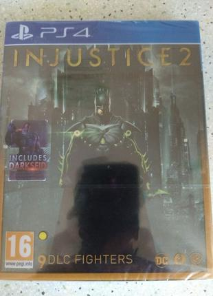 Диск Injustice 2 Ultimate Edition Steelbook PS4 (Playstation 4)