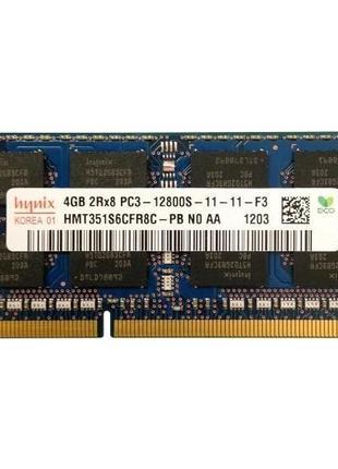 Память SK hynix 4 GB SO-DIMM DDR3 1600 MHz (HMT351S6CFR8C-PBN0)
