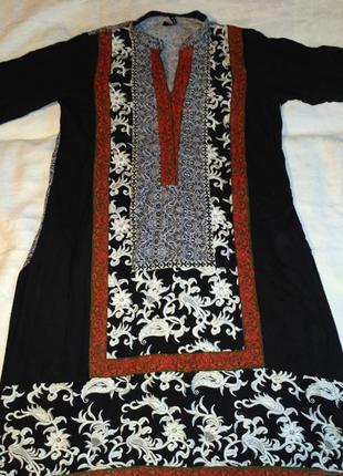 Туника вышивка платье восток