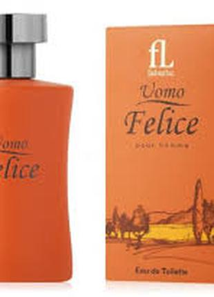 Туалетная вода Uomo Felicе Уомо Феличе для мужчин Faberlic