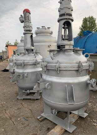 Реактор эмалированный 0,63м3. Реактор эмаль 630 литров.