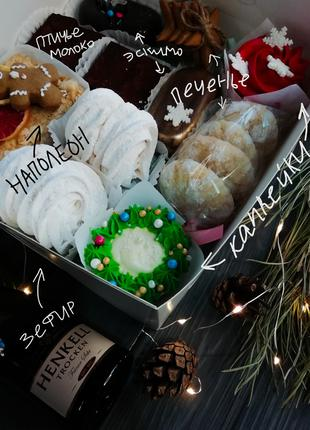 Торты, капкейки, наборы на Рождество, день рождения...