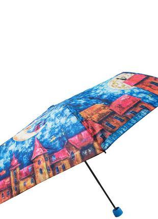 Зонт молодежный женский lamberti девочка и кот