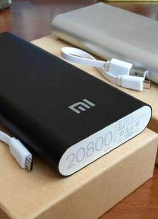 Портативная зарядка, рower Bank MI 20800mAh USB(2A), повербанк.