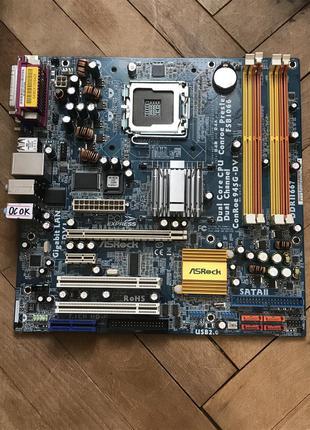 Материнская/Материнська Плата ASRock Conroe 945G-DVI socket 775