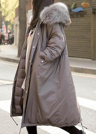 Зима 2020 - 2021 года. Новая утолщенная женская зимняя куртка.