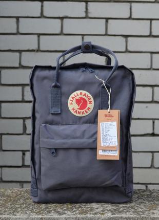 Легендарный рюкзак fjallraven kanken classic black