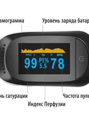 Пульсоксиметр (с индексом перфузии)