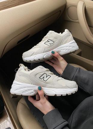 Кроссовки new balance 530 beige код:nb001