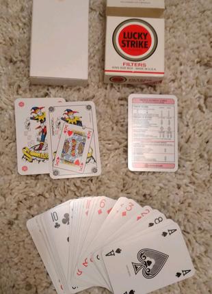 игральные карты карты Lucky Strike