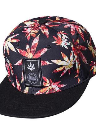 Кепка бейсболка snapback марихуана