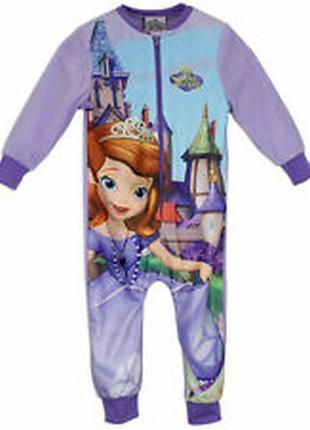 Человечек слип пижама кигуруми принцесса софия