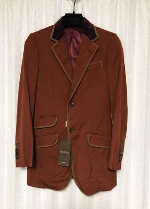 В Наличии Оригинал пиджак Gucci размер 50-52 DG Laurent Fendi