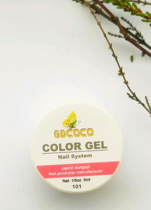 Гель-краска гель-лак канни canni gd coco