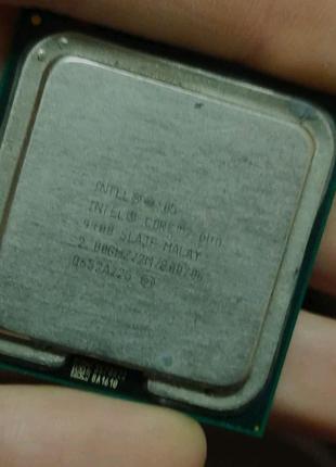 Процессор Intel Core 2 Duo E4400 L2 SLA3F 2.00GHz 2M Cache 800 MH