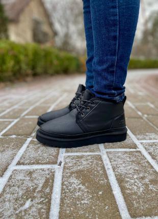 Ботинки Ugg Neumel Leather Black