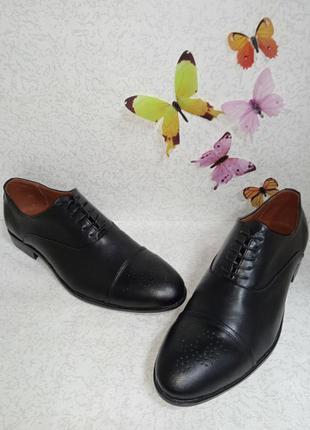 Кожаные мужские туфли броги  flamanti (фламанти)