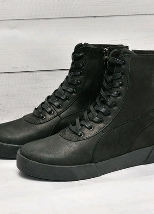 Puma  Кожаные зимние ботинки.