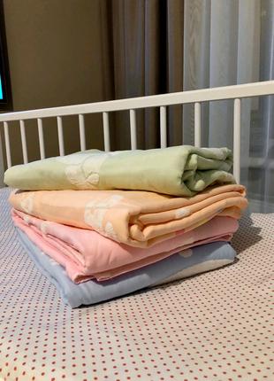 🎀Детское махровое полотенце , простынь , плед🎀