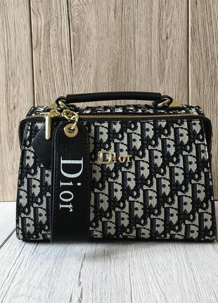 Женская сумка в стиле cd текстиль+натуральная кожа