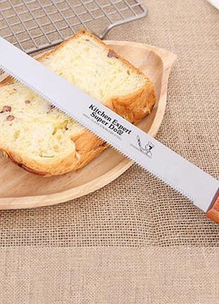 Специальный кондитерский  нож для нарезки коржей