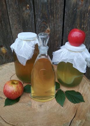 Оцет яблучний на меду.