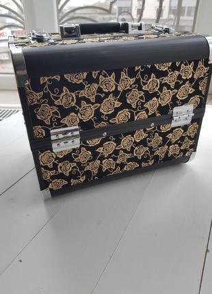 Кейс валіза сумка для косметики візажиста манікюру