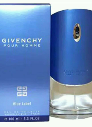Givenchy Pour Homme blue label 100 мл Мужской парфюм