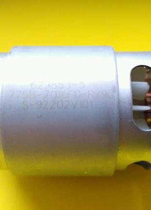 Двигун шуруповерта мотор макіта 18 вольт 629883 з шестернею 14зуб