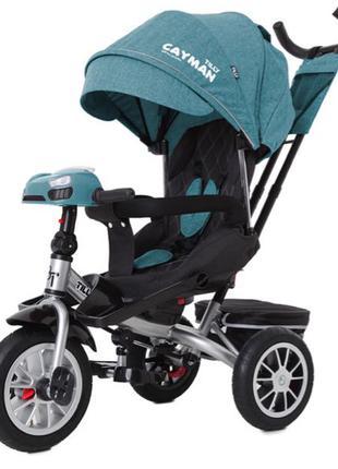 Велосипед триколісний TILLY CAYMAN з пультом і посиленою рамою T-