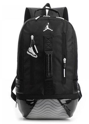 Рюкзак air jordan retro 11 black-2