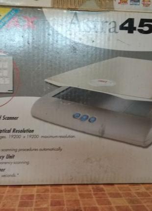 Продам сканер Astra 4500