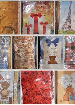 Подарочные новогодние пакеты по оптовым ценам, пакет, упаковка...