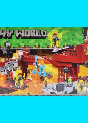Bela(LEGO) Конструктор MINECRAFT МНОГО Видов