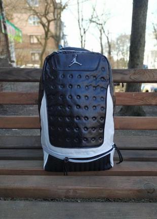 Рюкзак air jordan retro 13 black/white
